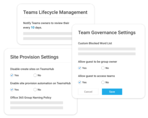 Site Provisioning and Lifeccycle management