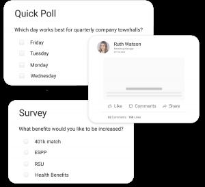 Polls, Surveys and Post